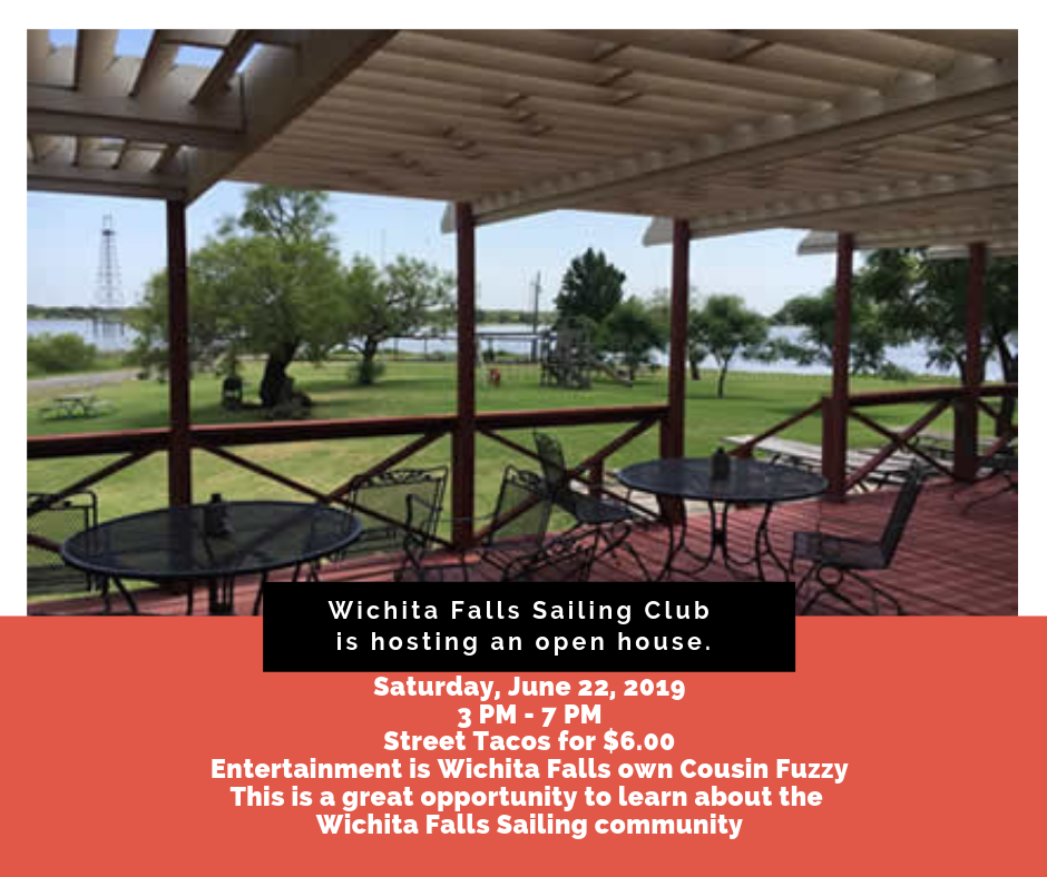Wichita Falls Sailing Club is hosting an open house.